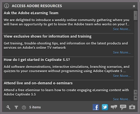 Access Adobe Resources