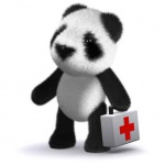 3d Teddy first aider