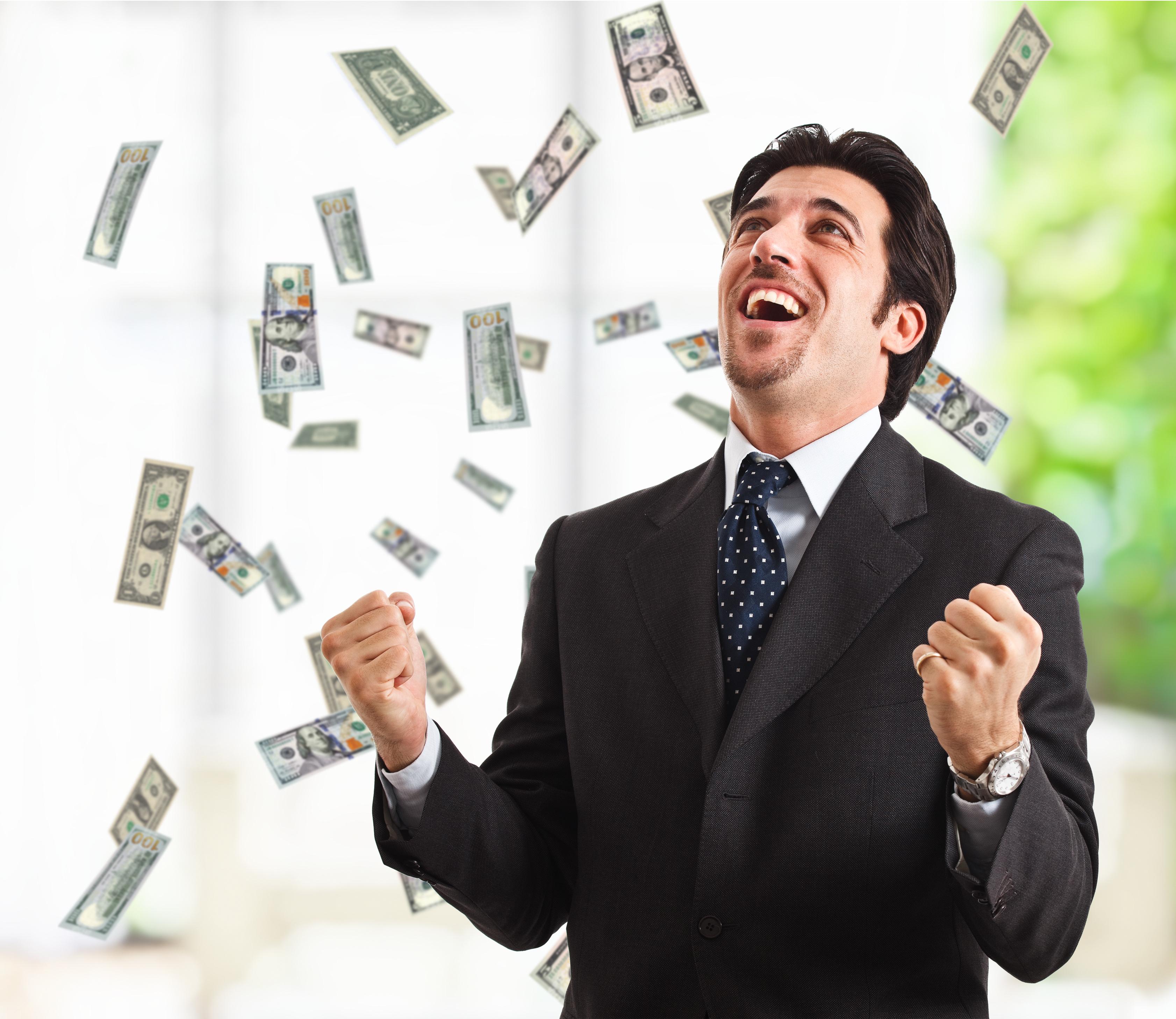 Прикольные картинки человека с деньгами, открытку