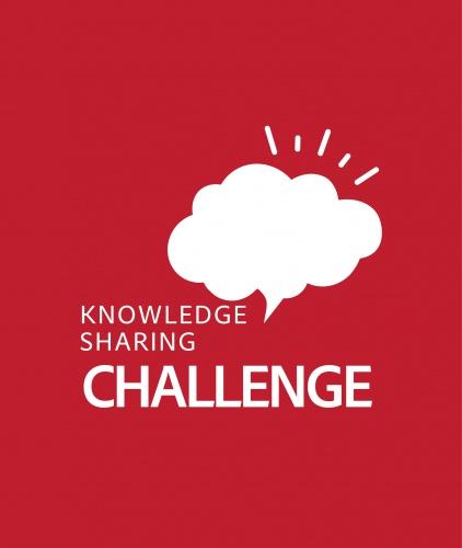 Knowledge sharing challenge logo