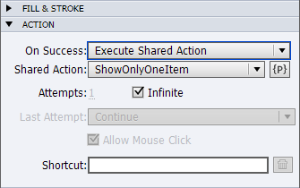 execute shared actions