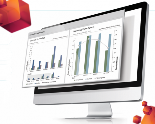 Adobe Captivate Prime features robust customizable reporting aligned to your business structure