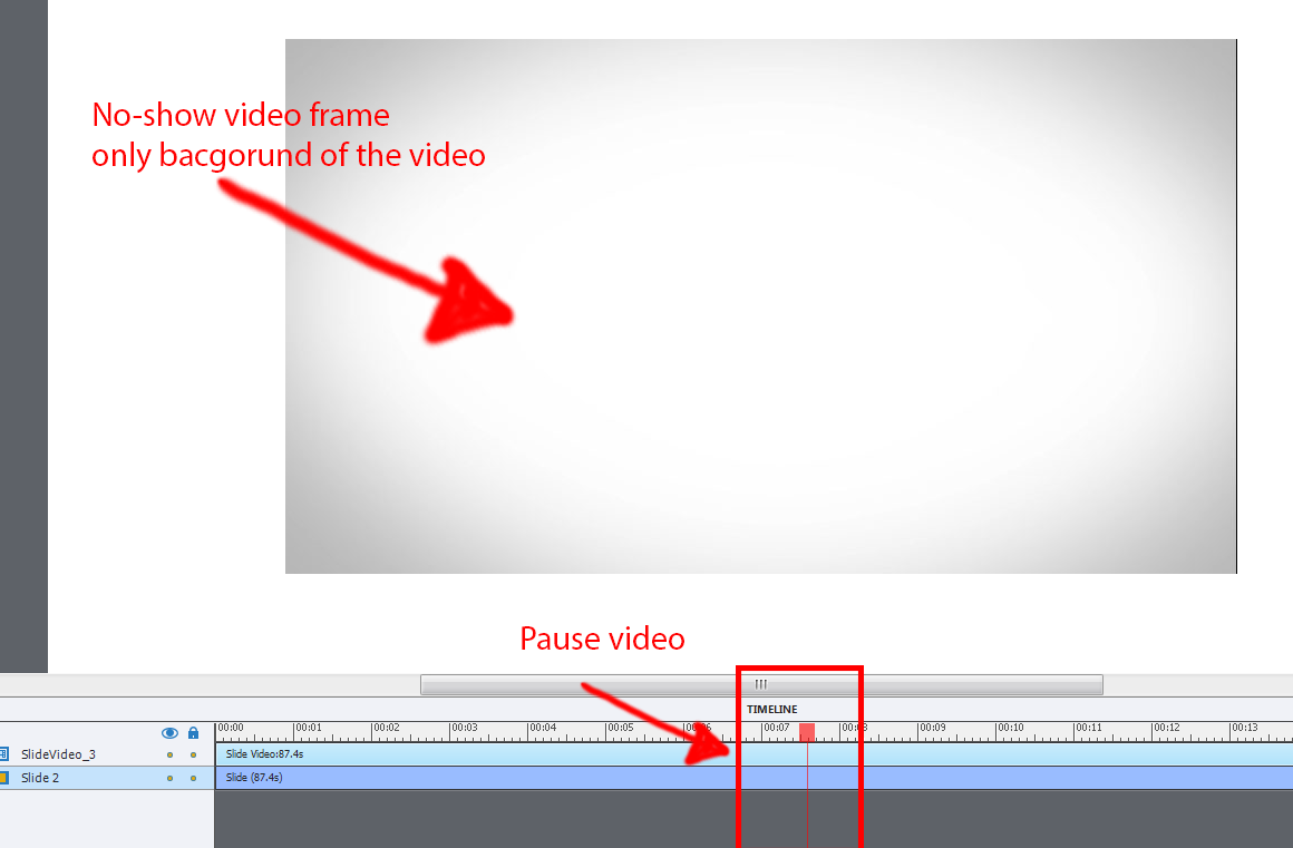 Interactive Video Issue - no-show when it pause    | Adobe