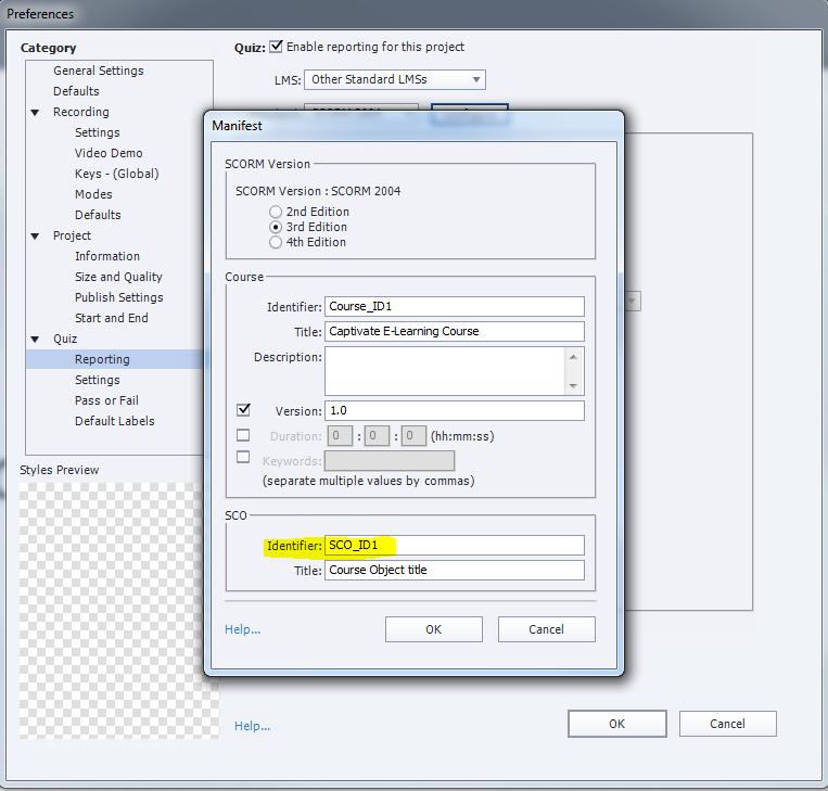 How do I locate SCORM ID | Adobe Community