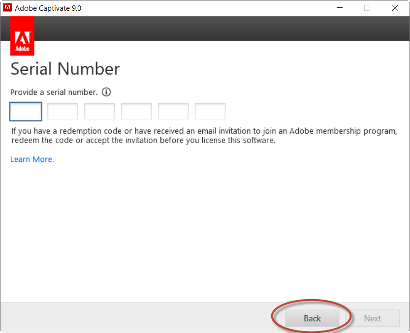 Where is the serial number for Captivate 30 Day... Adobe Community