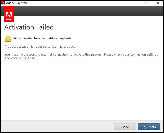 office product activation failed