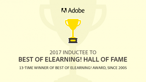 Adobe Captivate Hall of Fame 2017