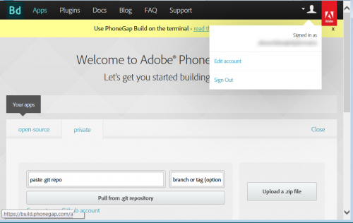 Publish for Devices - PhoneGap Login Won't Work - eLearning