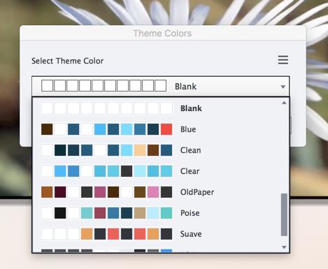 Captivate Themes Color Scheme