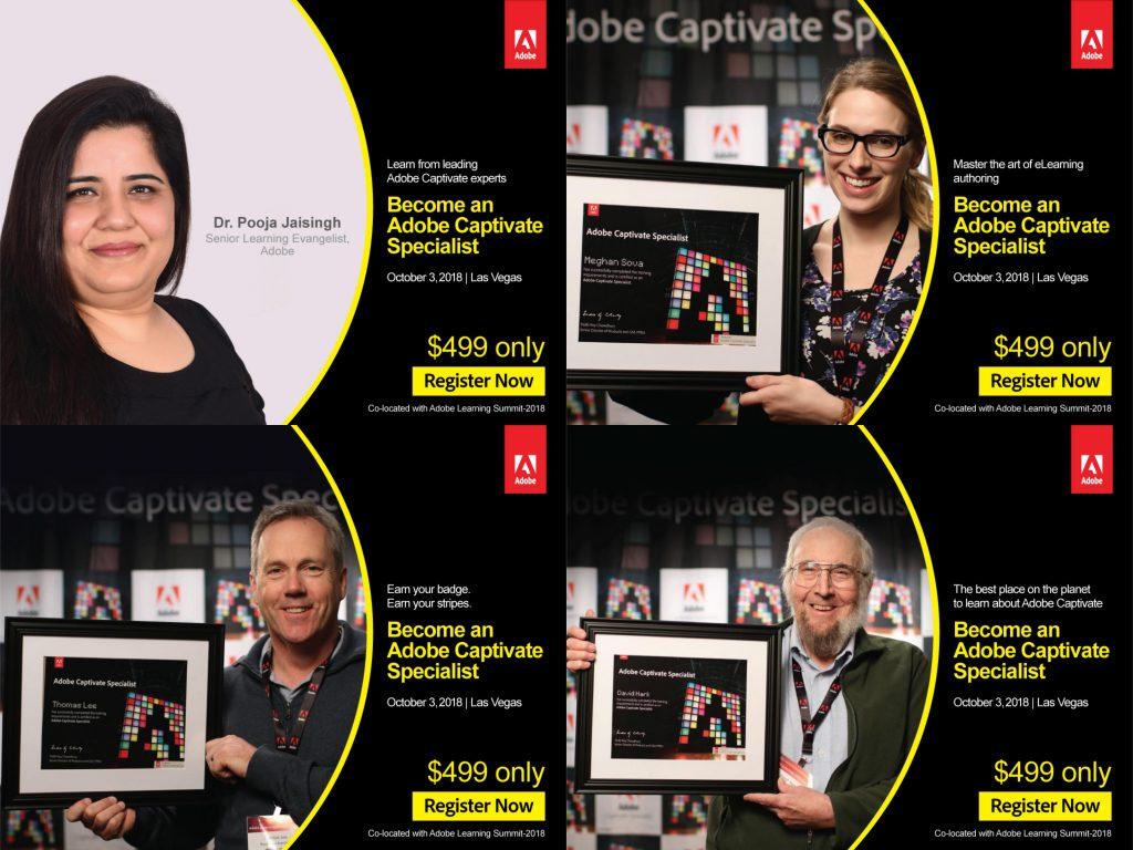 Adobe Captivate Specialist