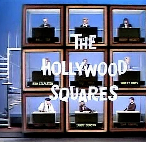 Picture from the television show The Hollywood Squares