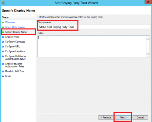 Configure SAML Integration with ADFS - eLearning
