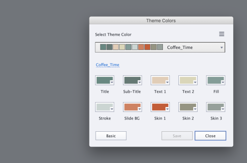 The Theme Color Manager