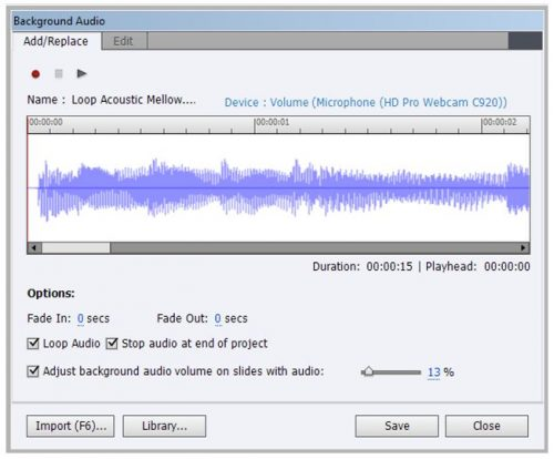 Adding Recorded Voice to a Captivate Project - eLearning