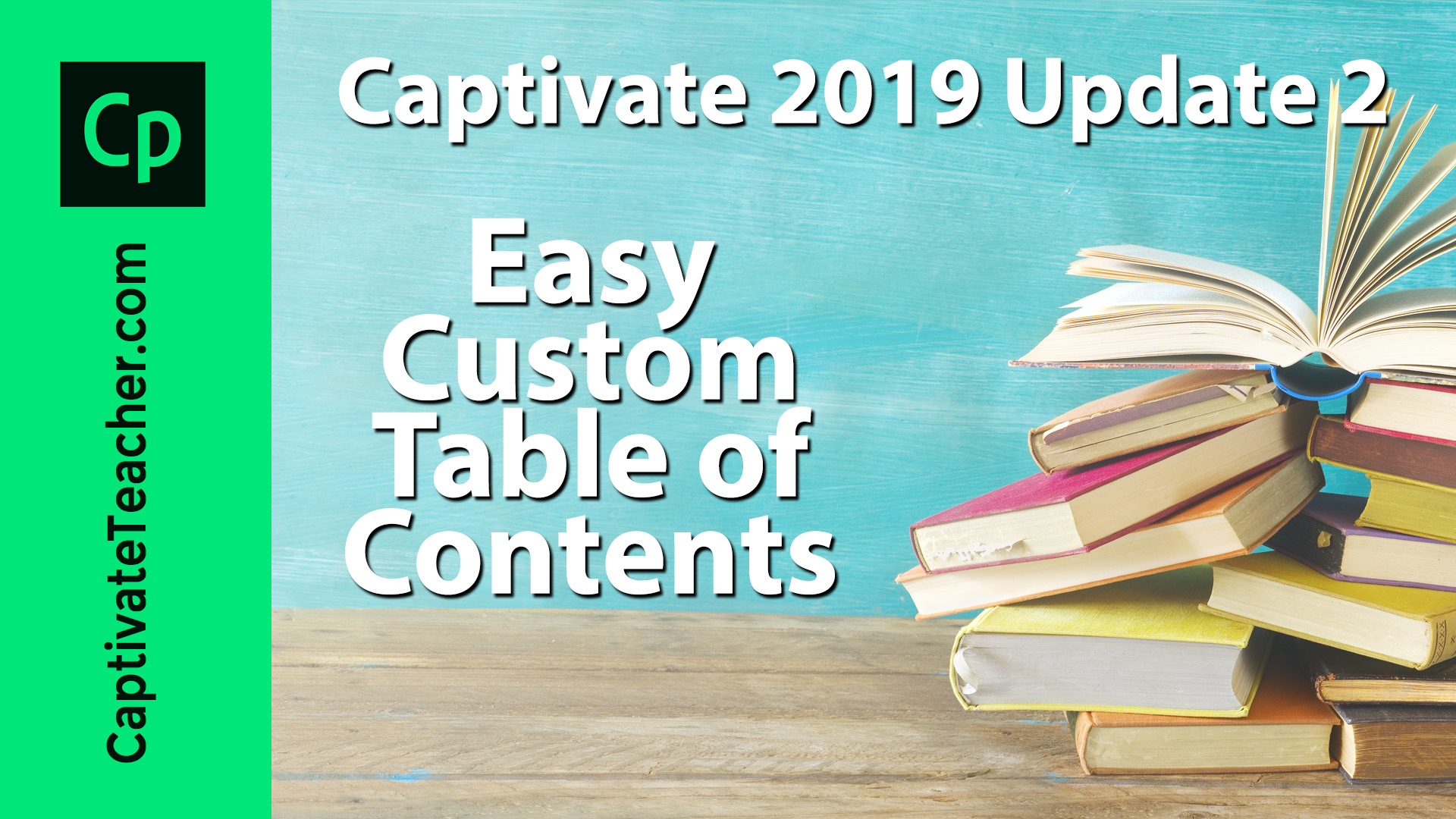easy custom table of contents  branching  in captivate