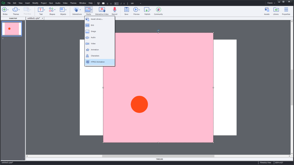 Convert to HTML5 Canvas